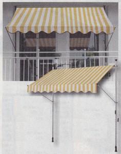 Markýza na balkon ceník